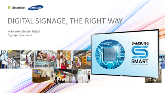 Digital signage, the right way